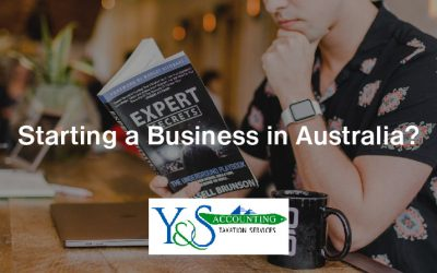 Starting a Business in Australia?